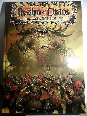 Warhammer 40k Realms of Chaos Lost and the Damned rare Ansell excellent