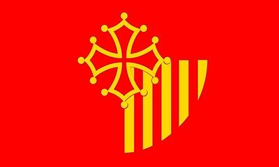 LANGUEDOC ROUSSILLON FLAG 5' x 3' Languedoc-Roussillon France Region French