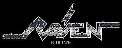 RAVEN  'name' sew on licensed woven patch