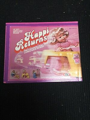 1983 Ideal Happi Returns Laughing Doll Sealed Unopened