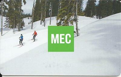 Skiers Mint Gift Card From Mec Canada Bilingual No Cash Value