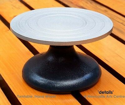 METAL POTTERY WHIRLER - BANDING WHEEL 180MM TURNTABLE, Excellent Quality