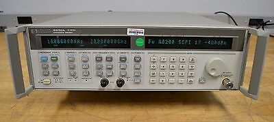 Hewlett Packard 83752A Synthesized RF Sweep Generator 10 MHz-20 GHz, Opt 1E1