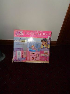Barbie size or Other same size dolls 1996 All forever friends foldaway house
