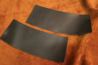 1 Pair Cuffs made of leather,Leather gauntlets for further processing,LARP,