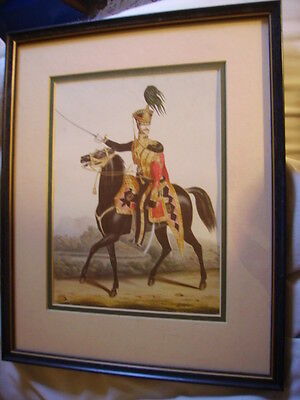 Framed Print - 19th Century British Army - 11th (Prince Albert's Own) Hussars