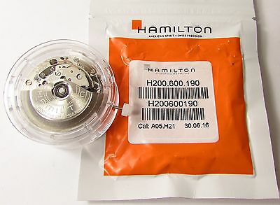 New Hamilton 7750 Cal: A05.h21 Auto Watch Movement In Genuine Factory Packaging