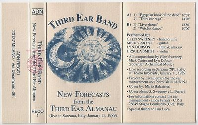 THIRD EAR BAND New Forecasts K7 MINT Inedits Italy Only ~~ high tide faust riley