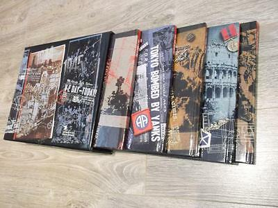 Usa World War 2 Remembered Full Set Of 5 Books Great Condition     Gv