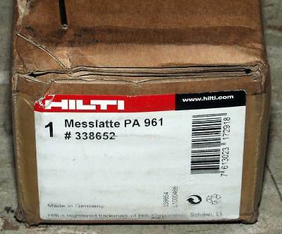 New In Box! Hilti 338652 Pa 961 Rotating Laser Leveling Staff