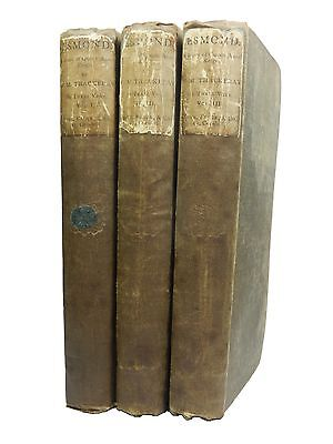 The History of Henry Esmond by William Makepeace Thackeray, 1852, First Edition
