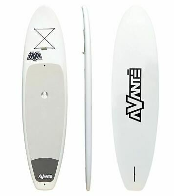 Sanctum,stand Up Paddle Board, Avante White Poly Sup 10'6  + Paddle + Fin & Bung