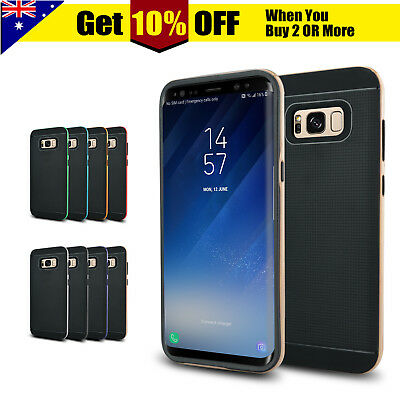 Samsung S8 Shockproof Bumper Heavy Duty Case Cover for Galaxy S8+ Plus S7 edge