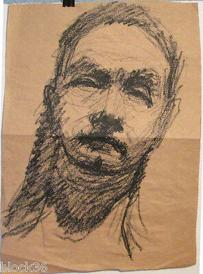 MAN'S PORTRAIT drawing by Russian artist A.Gromov