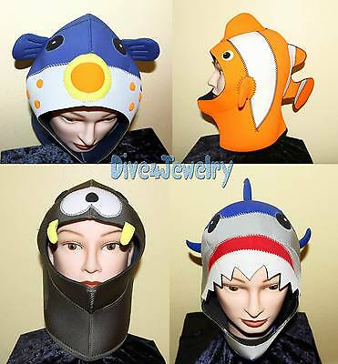 Scuba Diving Fun Dive Hood 3mm Keep Warm Fancy Cute Animal Party Costume Wetsuit