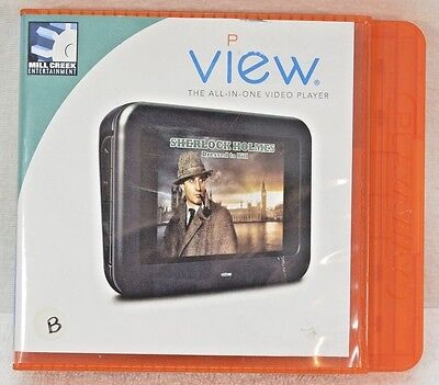 SHERLOCK HOLMES Dressed to Kill PLAYAWAY VIEW Portable Video Viewer