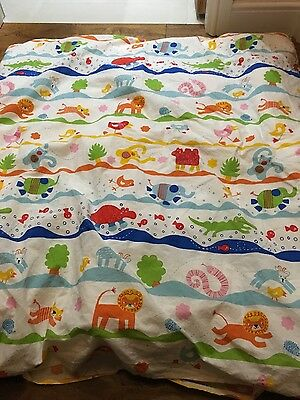 Lovely The Little White Company feather cot bed duvet hardly used and IKEA cover