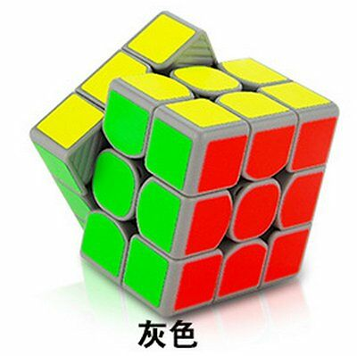 MoYu Weilong GTS 3x3 Speed Cube Magic Cube Puzzle Educational Toy Color Grey
