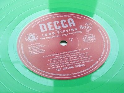 THE ROLLING STONES  U.K. LP ROLLING STONES No 2  GREEN VINYL PRESSING