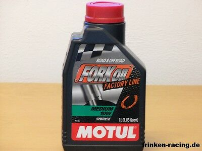 Motul Fork Oil Factory Line Medium SAE 10W 1Ltr vollsyn Gabelöl