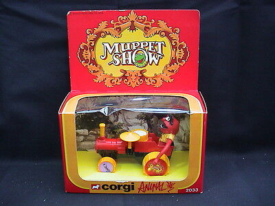Corgi 2033. 1979 Vintage Muppet Show. Animal in Tractor. Mint & Boxed.