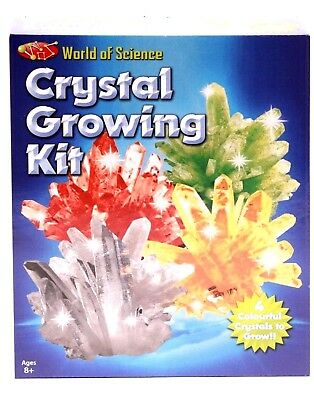 Grow your own Crystals Kids Science Experiment Crystal Growing Kit New
