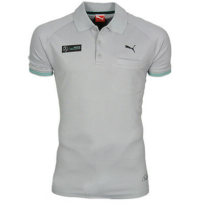 Puma F1 Mercedes Benz MAMGP Rosberg Motorsport Mens Polo Shirt 568206 03 EE13
