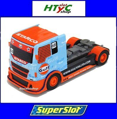 Superslot Camión Racing Truck Gulf #68 Scalextric Uk H3772