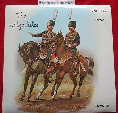 The Lilywhites Regimental Band Of The 13th/18th Royal Hussars (Q.M.O.) LP