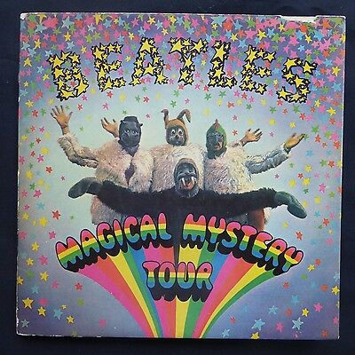 "THE BEATLES Magical Mystery Tour PARLOPHONE BLUE PAGES UK 1st Press MONO 7"" 45s"