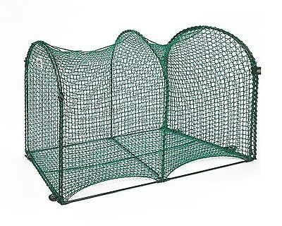 KittyWalk Deck & Patio Outdoor Outside Cat Enclosure Enclosed Play Pen Tunnel 4'