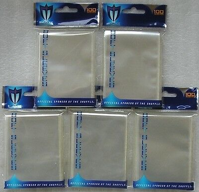 Max Protection 500 Soft Card Sleeves for ATC Trading Cards - Deck Protectors