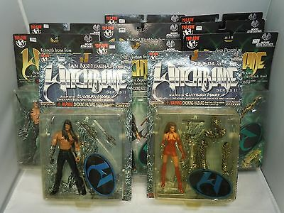 WITCHBLADE ACTION FIGURE LOT 98-99 SEALED Vtg PICK&CHOOSE Top Cow Moore