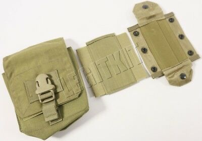 NEW Eagle Industries MLCS Gunners 762 Ammo Pouch Tan Buckle Navy SEAL MOLLE