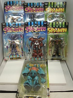 MANGA SPAWN ACTION FIGURE LOT 1997-98 MIP Goddess Overtkill Freak Dead McFarlane