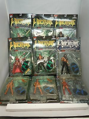 WITCHBLADE/FATHOM ACTION FIGURE LOT 1999 MIP Series 1-2 Variant Top Cow