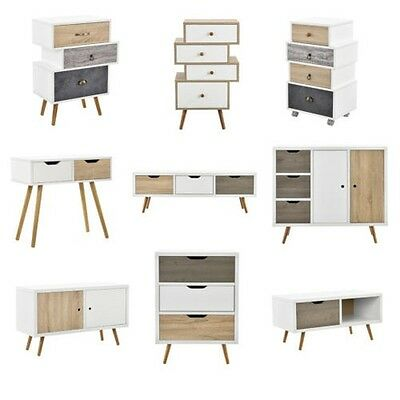 [en.casa] Design Commode Buffet Armoire Table d'appoint Table console TV table