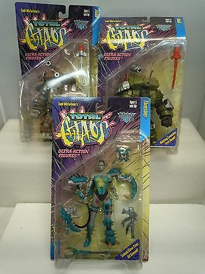 TOTAL CHAOS ACTION FIGURE LOT 1996-97 MIP Series 1-2 Variant McFarlane Toys