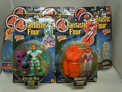 FANTASTIC FOUR 4 ACTION FIGURE LOT 94-96 SEALED Vtg PICK&CHOOSE Toy Biz