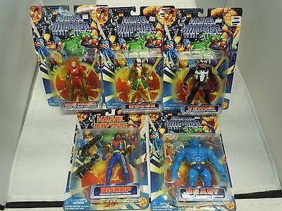 MARVEL UNIVERSE ACTION FIGURE LOT 96-97 MOC X-Men Venom Vtg PICK&CHOOSE Toy Biz