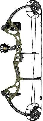 New 2016 Bear Archery Cruzer Lite RTH 45# Left Hand Xtra Camo Youth Bow Package