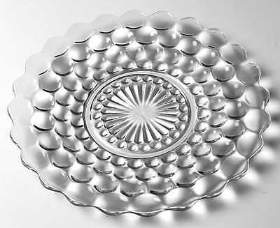 Anchor Hocking BUBBLE CLEAR Dinner Plate 964839