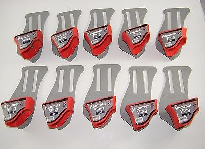 Lot Of 10 ~ Hammer Sling / Holder / Holster ~ Left Side ~ Swivel