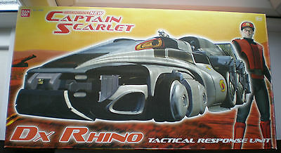 Captain Scarlet DX Rhino Vehicle-Gerry Anderson