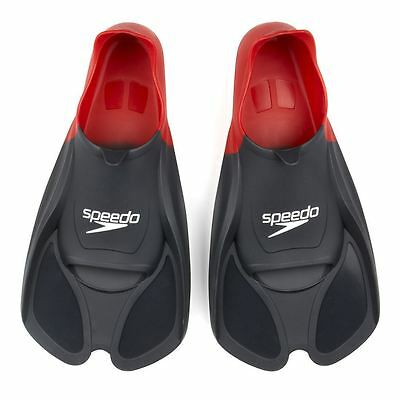Speedo Biofuse Resistance Training Fins Swimming Aid Flippers Junior/Adult Sizes