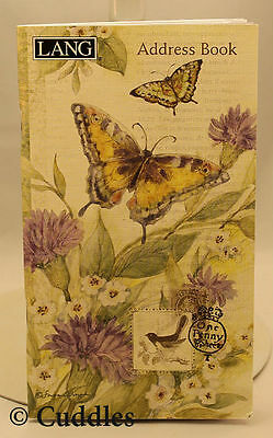 Morning Has Broken Butterfly Pocket Address Book Lang Names Cell Phone Email NEW