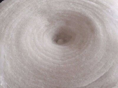 Polyester Wadding Dacron 5 metre piece x 150 cm wide White Wadd Thermal bonded