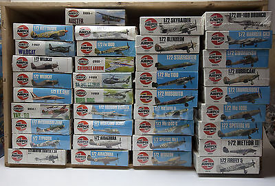 AIRFIX 37 1/72 HO Aereoplani aiplane collection all sealed