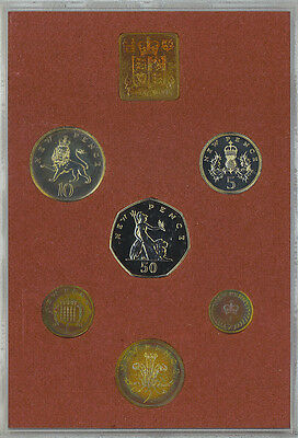 1979 Royal Mint Coinage of Great Britain & Northern Ireland Proof Set Original