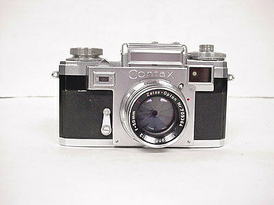 Vintage Contax Zeiss Ikon 35mm Camera with case